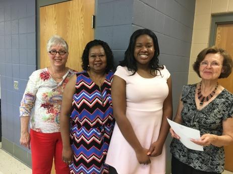 2017 scholarship winner tamia morrow